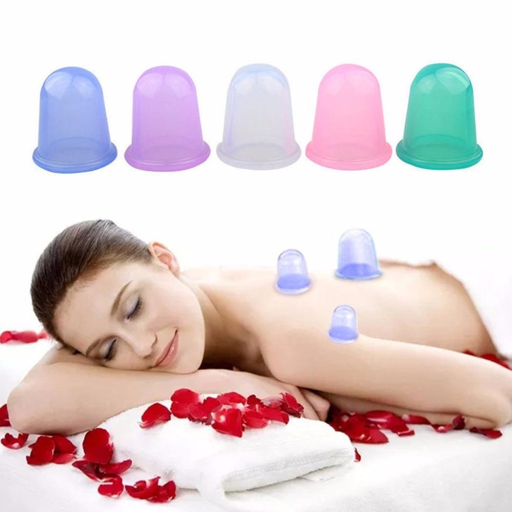 Anti Cellulite Weight Loss Vacuum Silicone Cupping Cups
