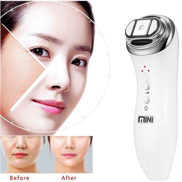 Ultrasonic Mini HIFU RF High Intensity Focused Skin Care Device with Gift