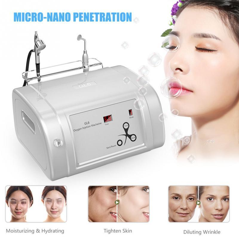 2 in 1 Oxygen Injection Oxygen Spray Skin Rejuvenation Beauty Salon Machine