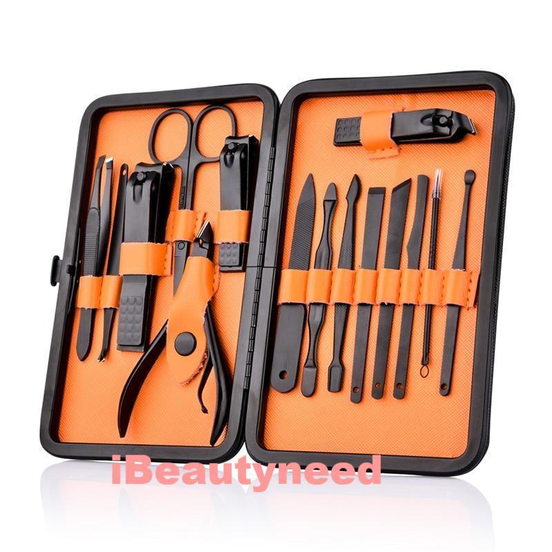 15 in 1 Professional Manicure Pedicure Nail Clipper Kit Set
