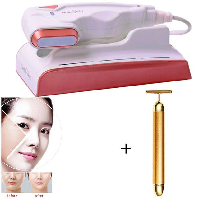 HelloSkin Mini HIFU Ultrasonic Anti Aging Wrinkle Removal Facial Beauty Machine