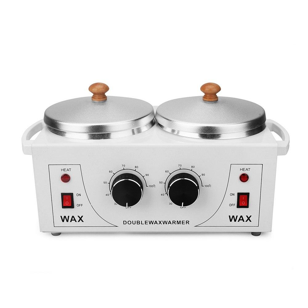 Electric Wax Warmer Machine with Double Pot for Hair Removal