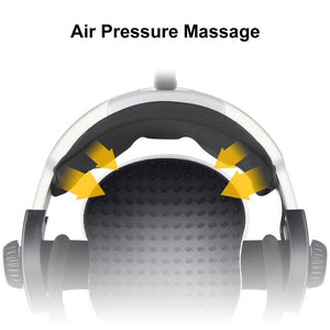 Multi-Directional Intelligent Air Pressure Finger Malaxation Electric Head Massager