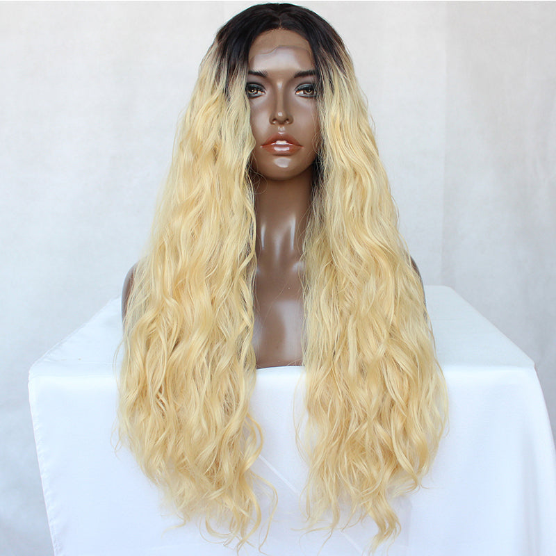 Frontal Wig 100% Virgin Human Hair Wig Body Wave 1b/613