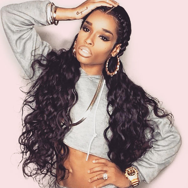 360 Lace Wig Virgin Human Hair Body Wave