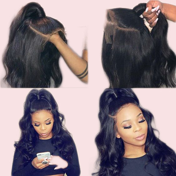 360 Lace Wig Virgin Human Hair Loose Wave