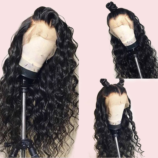 360 Lace Wig Virgin Human Hair Water Wave