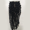 4*4 Top Lace Closure Kinky Curl Brazilian virgin hair