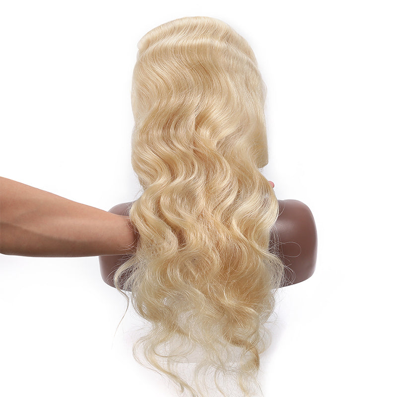 Frontal Wig 100% Virgin Human Hair Wig Body Wave 613