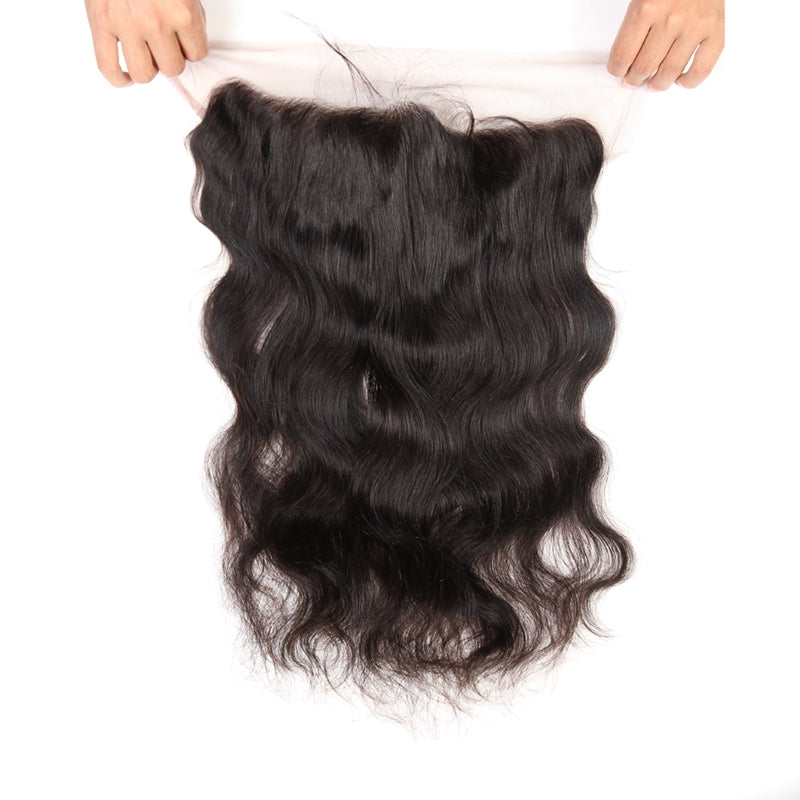 Pre Plucked 4*13 Frontal Body Wave Brazilian virgin hair