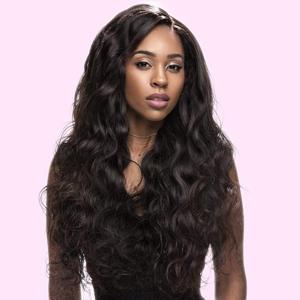 Front Lace Wig Virgin Human Hair Body Wave
