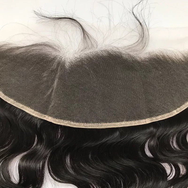 Transparent Pre Plucked 4*13 Frontal 100% Virgin Hair