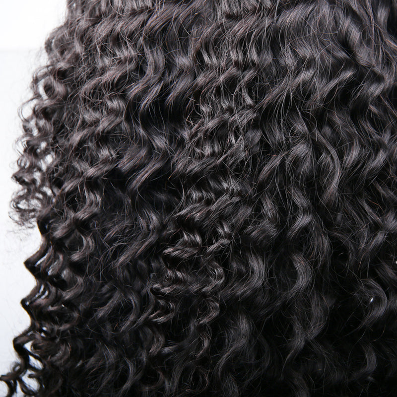 360 Lace Wig Virgin Human Hair Deep Curl