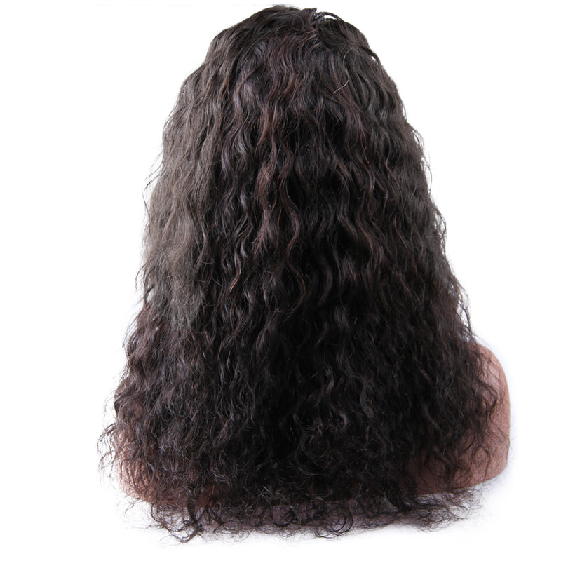 Frontal Wig Virgin Human Hair Water Wave