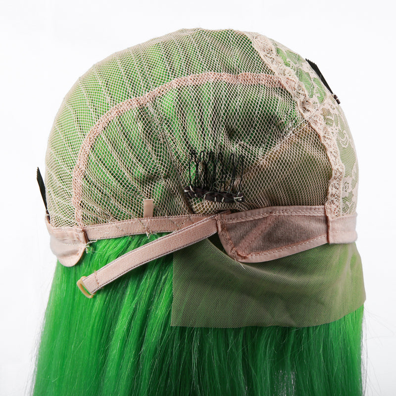 Green Bob Wig Frontal Lace 100% Virgin Human Hair