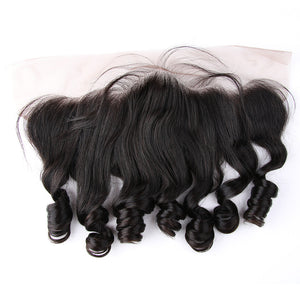 3 Bundles Deal With Frontal Peruvian Virgin Hair Loose Wave
