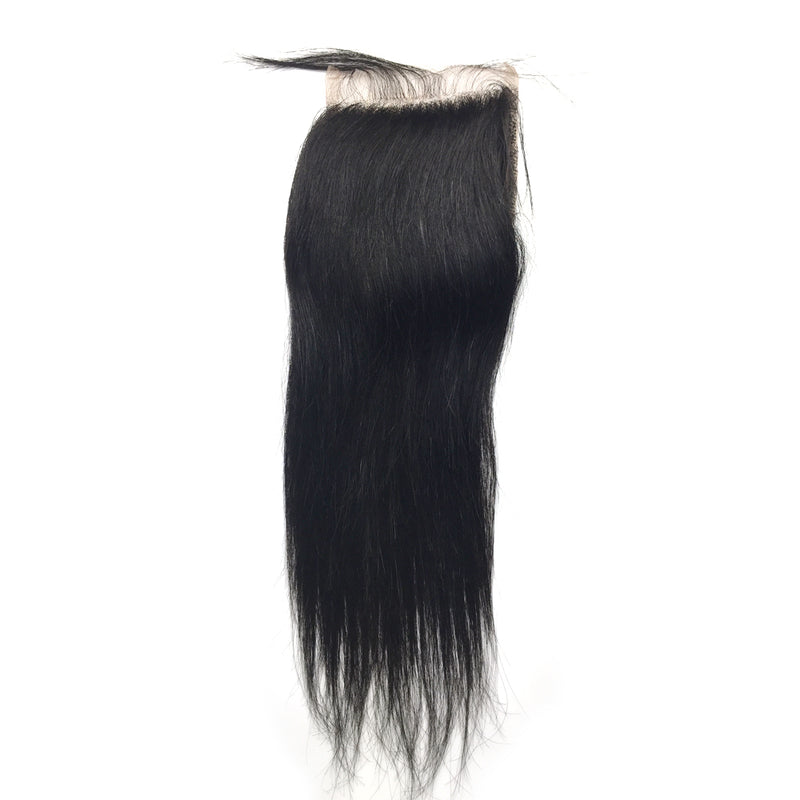 4*4 Top Lace Closure Straight Brazilian virgin hair