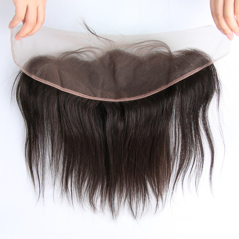 Pre Plucked 4*13 Frontal Straight Brazilian virgin hair