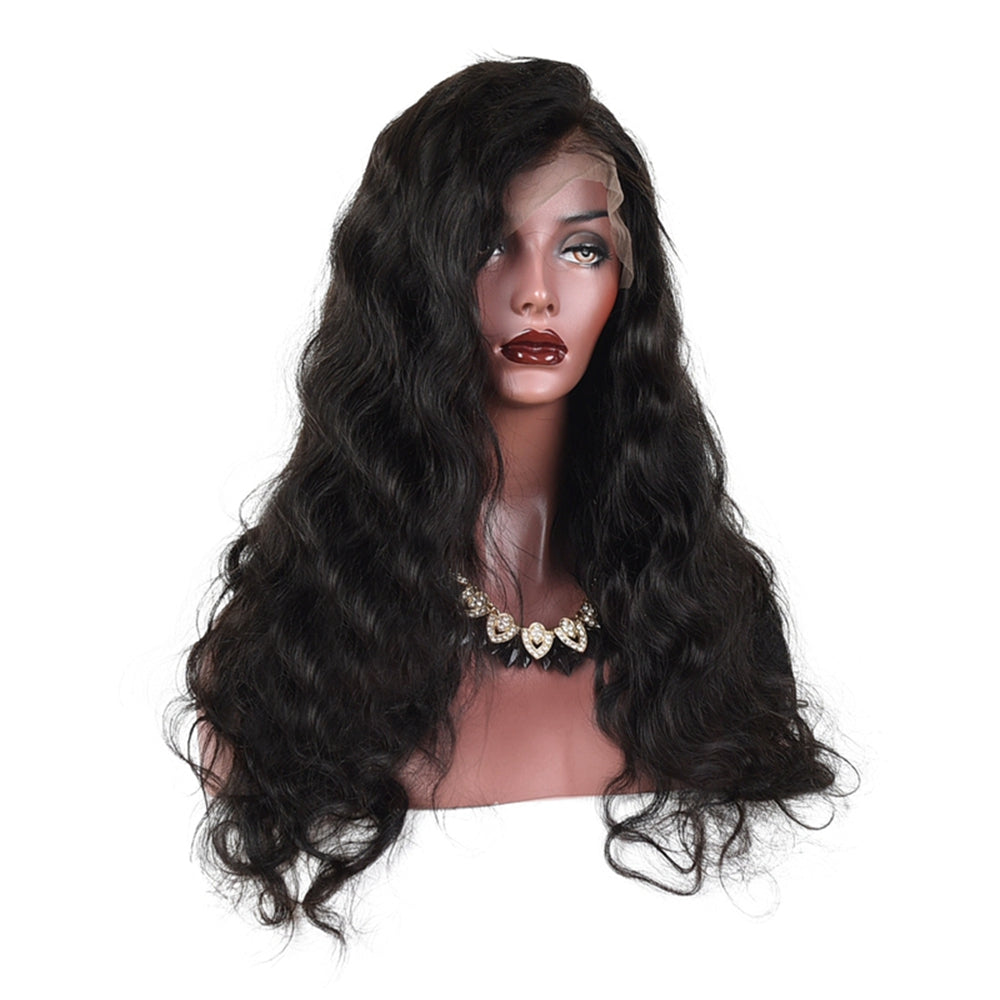 Full Lace Wig Virgin Human Hair Body Wave