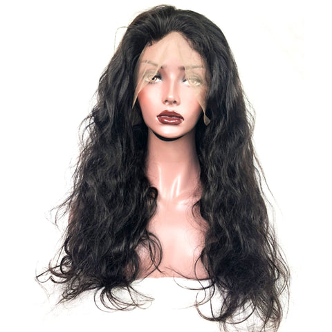 360 Lace Wig Virgin Human Hair Afro Kinky