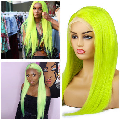 13*6 Frontal Wig Virgin Hair Wig Blonde 613#