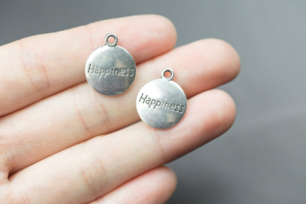 8 Happiness Charms 15mm- 1133-12098