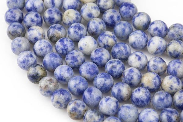 Gorgeous Round Sodalite, High Quality in Smooth Round, 4mm, 6mm, 8mm, 10mm, 12mm- Wholesale Pricing- Full 15.5 Inch Strand AAA Quality