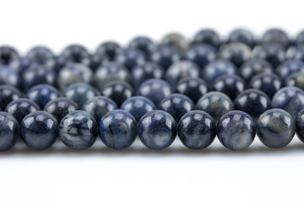 Gorgeous Round Dumortierite, High Quality in Smooth Round, 4mm, 6mm, 8mm, 10mm, 12mm