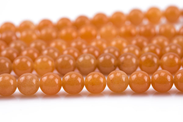 Gorgeous Orange Aventurine, High Quality in Smooth Round, 4mm, 6mm, 10mm, 12mm AAA Quality