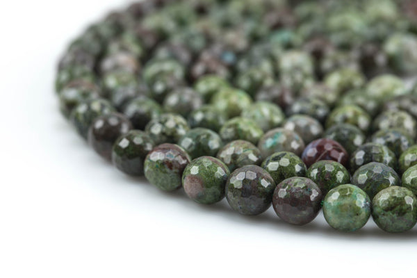 Gorgeous Ruby Caldrite- Faceted Round- 6mm, 8mm, 10mm