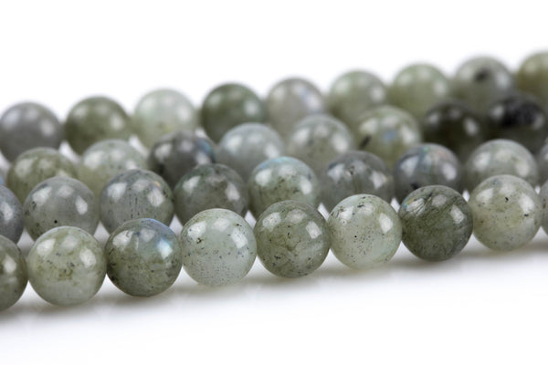 Gorgeous Labradorite Natural Smooth Round-6mm, 8mm, 10mm, 12mm- Full 16 inch strand AAA Quality