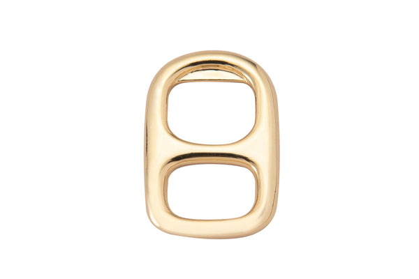 3pc Gold FilledSoda Tab Charm Gold Soda Pull-tab Pendant Charm For Earring Bracelet Necklace Jewelry Making Supplies-17x23mm