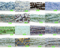 10mm Crystal colors Rondelle Huge Selection Third Section-5 STRANDS