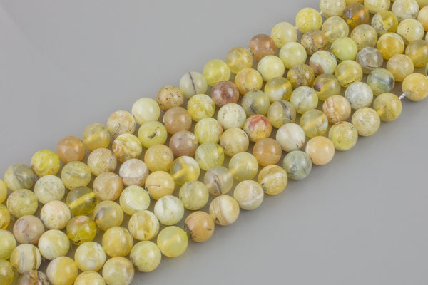 Gorgeous Yellow Opal, AA Grade - AA Quality Round
