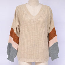 Load image into Gallery viewer, V Neck Sweater