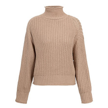 Load image into Gallery viewer, Khaki Turtleneck Sweater