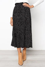 Load image into Gallery viewer, Chiffon High Waisted Pleated Maxi Skirt with Pockets