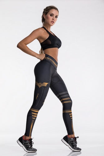Drakon Super Heroes Collection Batman Leggings - Fitness People Sportswear