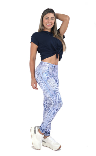 Fitness People Legjean 2020 Blueprints Women Jeggings - Fitness People Sportswear