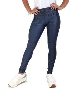 Fitness People Legjean 2020 Cuero Blue Women Jeggings - Fitness People Sportswear