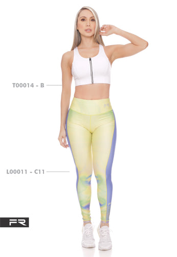 Fiber Authentic Collection L00011-C11 T00014-B Women Leggings - Fitness People Sportswear