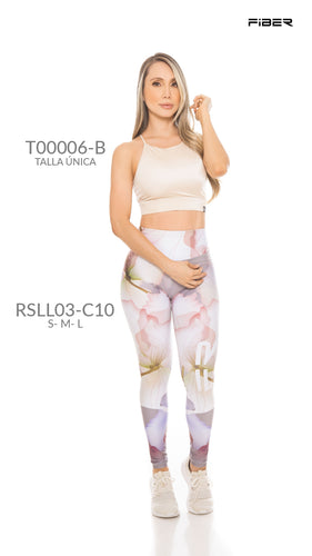 Fiber RSLL03-C10 Resilient Collection Women Leggings - Fitness People Sportswear