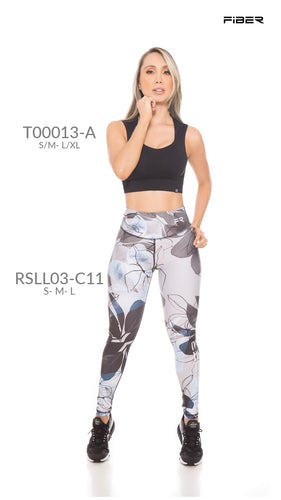Fiber RSLL03-C11 Resilient Collection Women Leggings - Fitness People Sportswear