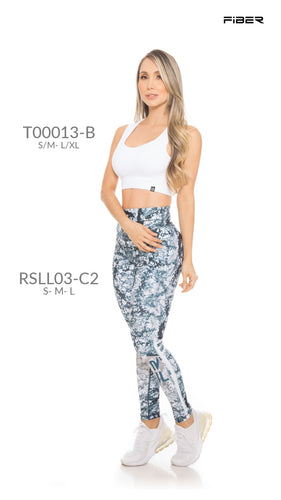 Fiber RSLL03-C2 Resilient Collection Women Leggings - Fitness People Sportswear