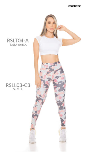 Fiber RSLL03-C3 Resilient Collection Women Leggings - Fitness People Sportswear