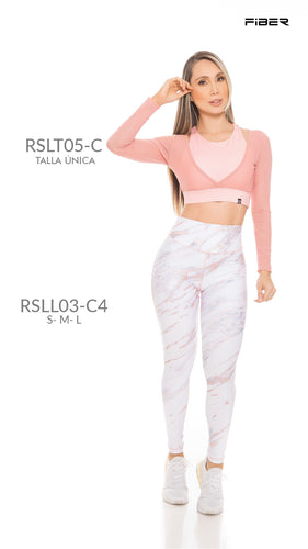 Fiber RSLL03-C4 Resilient Collection Women Leggings - Fitness People Sportswear