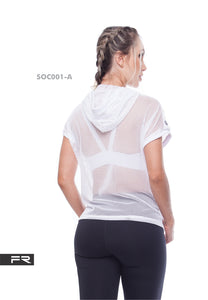 FIBER SOUL HOODIE MESH Variety of colors - Fitness People Sportswear