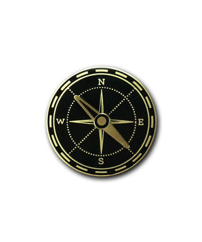 Spinning Compass Pin