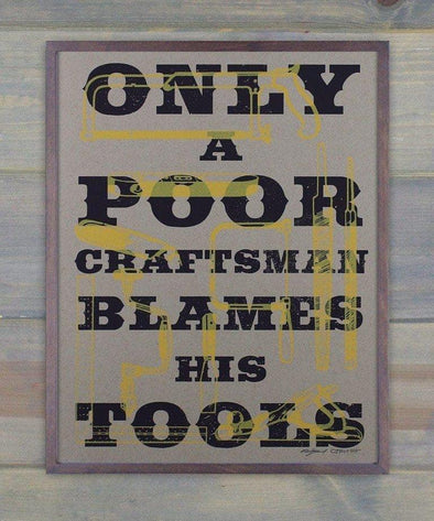 Craftsman Screen Print