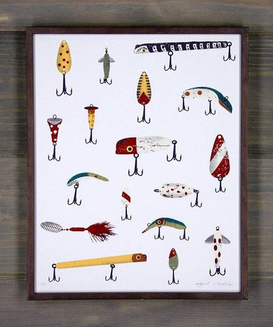 Grandpa's Lures Screen Print
